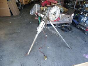RIDGID NO.270 PIPE THREADER/ THREAD MACHINE 125V WITH STAND
