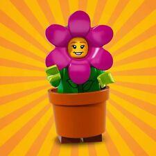 LEGO MINIFIGURES SERIE 18 71021 - 14 FLOWER POT GIRL ragazza vaso 1 MINIFIGURE