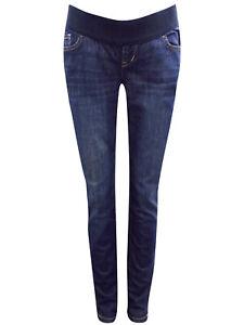 Gap Old Navy DENIM Cotton Rich Under Bump Maternity Jeans Size 6-18