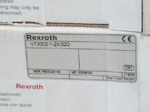 VT3002-1-2X/32D  new rexroth