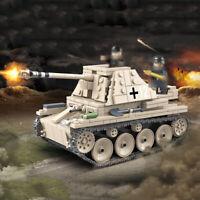 608pcs Militär Marder III Ausf.H Panzer Modell Bausteine mit WW2 Soldat Figuren