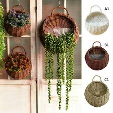 New Outdoor Flower Planter Wall Hanging Basket for Garden Holder Home Decoration