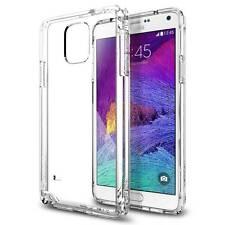 Housse Coque Etui Gel TPU Transparent pour Samsung Galaxy Note 4