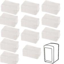 Recharge de 1200 Serviettes papier pour distributeur à serviettes en papier