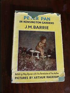 PETER PAN in Kensington Gardens  J. M. BARR Arthur Rackham 1951 Hodder&Staughton