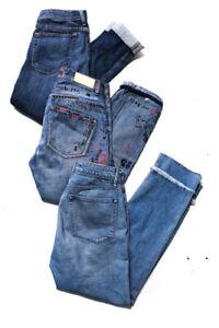 Rag & Bone Jean Scotch & Soda Womens Jeans Blue Lot 3