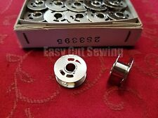 10 Singer Quantum Sewing Machine Metal Bobbins Cxl,Xl1 Part # 283395
