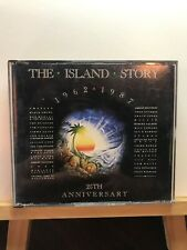 Used ~ The Island Story 1962-1987 25th Anniversary by Various (2xCD 1987 Island)
