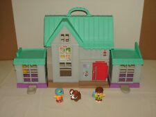 Little People Big Helpers Home House With Sound Talking & Figures