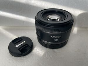 Canon RF 50mm F1.8 STM Standard Lens Mint Condition Used 1 Time LOOK