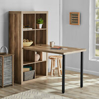 Adjustable Height Workstation Desk Home Computer Office Table for Cube Storage