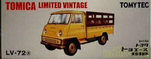 Tomytec 1/64 Tlv-72A Toyoace Livestock Carrier Yellow 4904810218470