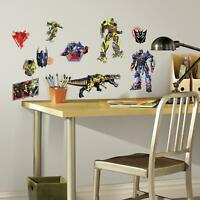 22 New TRANSFORMERS AGE OF EXTINCTION WALL DECALS Boys Bedroom Stickers Decor