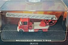 MERCEDES-BENZ TURNTABLE FIRE ENGINE 1/72 by ATLAS EDITIONS - BRAND NEW SEALED