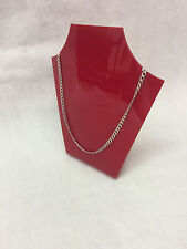 Rouge Perspex Acrylique formé collier Bijoux support d'affichage... NEUF
