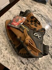 """Rawlings 12"""" Playmaker Leather Youth Baseball Glove PM120BT - Left Thrower LHT"""