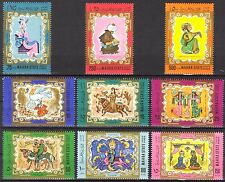 MAHRA State ADEN 1967 Fairy Tales set of 9 MNH** Mi: 30/38 7,50 Eur.
