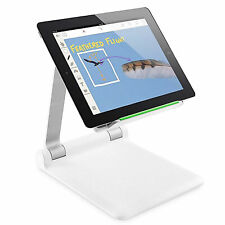 Adjustable Folding Desk Table Stand Holder For Mobile Phone Tablet PC USA