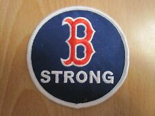 2017 Boston  Patriots Day Movie Mark Wahlberg B STRONG PATCH David Ortiz Red Sox