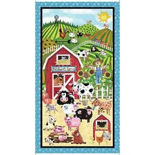Patchwork Farms Panel Fabric Material