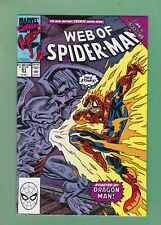 Web of Spider-Man #61 (1990) Normie Osborn as Child, Red Goblin, NM