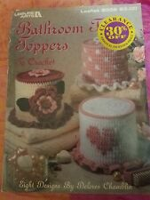Leisure Arts Bathroom Tissue Toppers Crochet Pattern 8 Designs Delores Chamblin