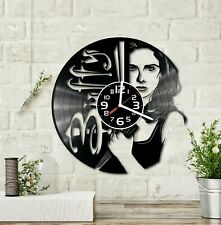 Buffy Vinyl Record Clock Handmade Home Decor Wall Art Souvenir