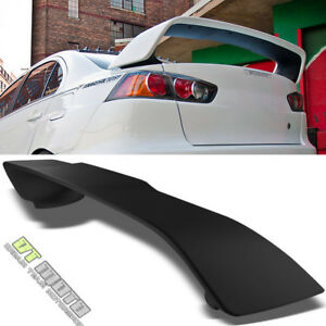 For 2014 2015 2016 2017 Mitsubishi Lancer-Rear Window Roof Spoiler Unpainted
