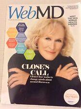 Web Md Magazine Glenn Close Mental Illnesses November/December 2015 042917nonrh2