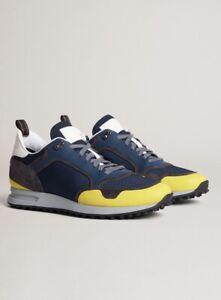 Dunhill Radial Runner Sneaker Mix Lemon Size 39 UK 5 RRP£445