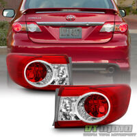 For 2011-2013 Toyota Corolla Outer Tail Lights Replacement US Built Left+Right