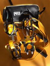 Crampons Grivel High-tech avec antibottes (et housse Petzl)