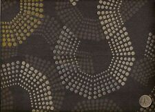 Pallas Half Tone Charcoal Tree Contemporary Abstract Geometric Upholstery Fabric