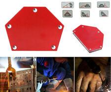 4x angolo di Saldatura Montaggio MAGNET 18kg ANGOLO MAGNETICO MAGNETE SALDATORI magneticamente