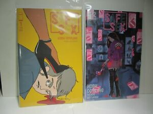 LOT IMAGE SAFE SEX  #1 - 2nd PRINT Skelly Variant,#2 by Tina Horn ( Adult Only )