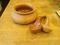 Vintage Himark Terra Cotta Italy Two Spoons