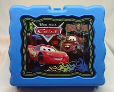 """Pixar Cars Lunchbox"" +(Blue, Plastic)"