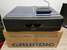 7 Kopf S-VHS Recorder Grundig GV280 mit FB/BDA/OVP 12 Monate Garantie*