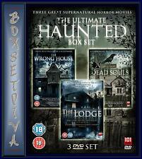 THE ULTIMATE HAUNTED BOXSET-THE WRONG HOUSE/DEAD SOULS/THE LODGE*BRAND NEW DVD**