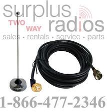 UHF NMO 410-490Mhz Vehicle Antenna Kit Motorola Mobile CM200 CM300 PM400 CDM1250