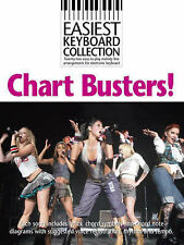 Easiest Keyboard Collection Chart Busters Book Sheet Music McFly Sugababes S75
