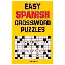 Easy Spanish Crossword Puzzles (Language Spanish) (English and Spanish Edition)
