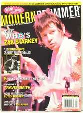 MODERN DRUMMER MAGAZINE ZAK STARKEY THE WHO KEITH MOON TRAVIS SMITH JOE RUSSO