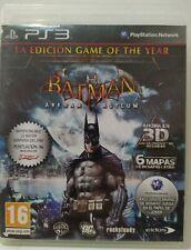 Batman Arkham Asylum. PS3. Fisico. Pal España