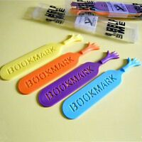 Marker ME HELP Bookmarks Bookmark Hand 4PCS Cute Help Me Book Novelty Label