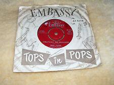 "Bobby  Stevens   Halfway  To  Paradise /  A  Girls Like You 1961 7"" Vinyl Record"