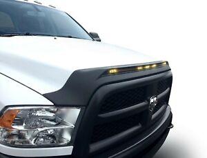 Aeroskin Light Shield Hood Protector for AVS Dodge Ram 2500 3500 Black