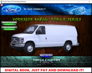 FACTORY REPAIR SERVICE MANUAL FOR FORD E-SERIES ECONOLINE 2009-2014