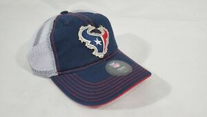 LZ NFL Apparel Youth Big Kids OS Houston Texans Snap Back Baseball Cap Hat NEW