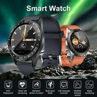 GT105 Blood Pressure Oxygen Heart Rate Monitor Smart Watch Sports Track Bracelet